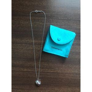 Tiffany's Silver Heart Necklace.